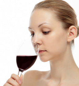 sniffing wine, become a better wine taster
