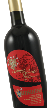 chinese new year, wines for Chinese New Year, Donatella Cinelli Colombini Il Drago e le Otto Colombe